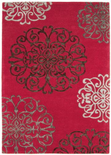 Matrix 100% Pure Wool MAX45 Tangier Red Rug